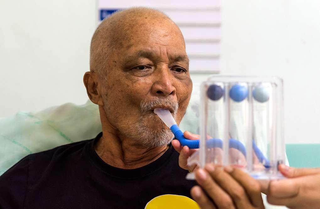 Fisioterapia respiratória para reabilitação pós-covid